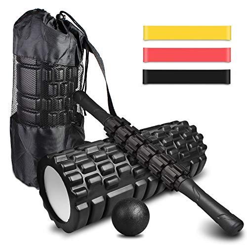 4-en-1 Foam Roller Kit ,...